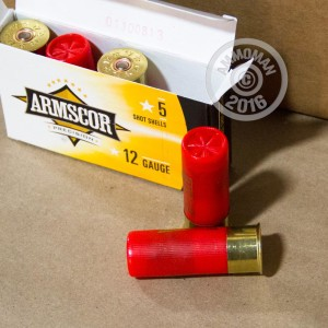 "Picture of 12 GAUGE ARMSCOR 2-3/4"" 00 BUCK (5 ROUNDS)"