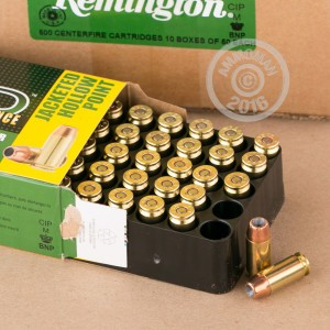 Picture of .40 S&W REMINGTON HTP 155 GRAIN JHP (50 ROUNDS)