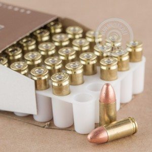 Picture of 9MM LUGER BLAZER BRASS 115 GRAIN FMJ (50 ROUNDS)
