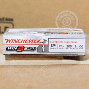 "Picture of 12 GAUGE WINCHESTER WIN3GUN 2-3/4"" 00 BUCK (5 SHELLS)"