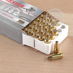 Picture of 9MM LUGER WINCHESTER WINCLEAN 147 GRAIN BEB (50 ROUNDS)