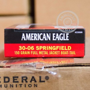 Picture of .30-06 SPRINGFIELD FEDERAL AMERICAN EAGLE 150 GRAIN FMJ (20 ROUNDS)