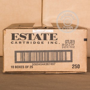 """Picture of 20 GAUGE ESTATE GAME AND TARGET  2-3/4"""" #9 SHOT (25 SHELLS)"""