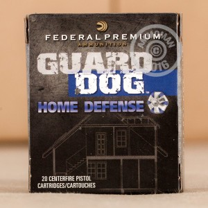 Picture of 9MM LUGER FEDERAL GUARD DOG 105 GRAIN EFMJ (20 ROUNDS)