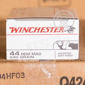 Picture of 44 MAGNUM WINCHESTER 240 GRAIN JSP (50 ROUNDS)