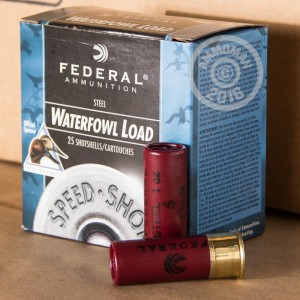 """Picture of 12 GAUGE FEDERAL STEEL SHOT WATERFOWL 2-3/4"""" #6 SHOT (250 ROUNDS)"""