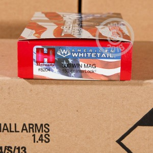 Picture of 300 WIN MAG HORNADY AMERICAN WHITETAIL 150 GRAIN SP INTERLOCK (20 ROUNDS)
