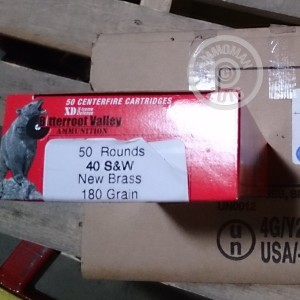Picture of 40 S&W BVAC 180 GRAIN JHP (50 ROUNDS)