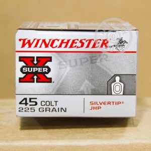 Picture of 45 COLT WINCHESTER SILVERTIP 225 GRAIN JHP (20 ROUNDS)