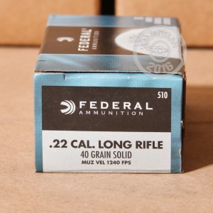 Picture of .22 LONG RIFLE FEDERAL CHAMPION 40 GRAIN LRN (500 ROUNDS)