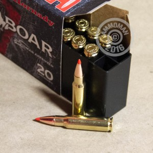 Picture of 6.8MM SPC HORNADY FULL BOAR GMX 100 GRAIN PT (20 ROUNDS)