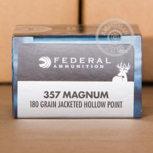 Picture of 357 MAGNUM FEDERAL POWER-SHOK 180 GRAIN JHP (20 ROUNDS)