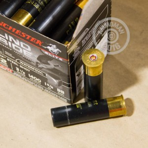 """Picture of 12 GAUGE WINCHESTER ELITE BLIND SIDE WATERFOWL 3-1/2"""" 1-5/8 OZ. BB HEX STEEL SHOT (250 ROUNDS)"""