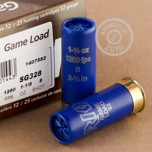 "Picture of 12 GAUGE RIO GAME LOAD 2-3/4"" 1-1/8 OZ. #8 SHOT (25 ROUNDS)"