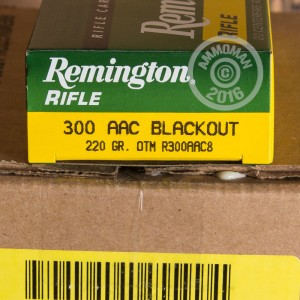 Picture of 300 AAC BLACKOUT REMINGTON EXPRESS 220 GRAIN OTM (200 ROUNDS)