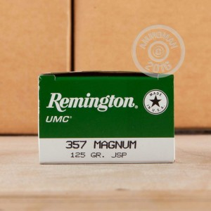 Picture of 357 MAGNUM REMINGTON UMC 125 GRAIN JSP (50 ROUNDS)