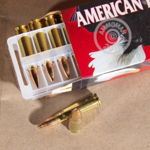 Picture of 7.62X39 FEDERAL AMERICAN EAGLE 124 GRAIN FMJ (20 ROUNDS)