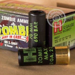 """Picture of 12 GAUGE HORNADY Z-MAX ZOMBIE 2-3/4"""" 00 BUCK (250 SHELLS)"""