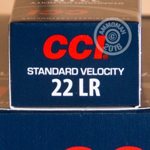 Picture of 22 LR CCI STANDARD VELOCITY 40 GRAIN LRN (500 ROUNDS)