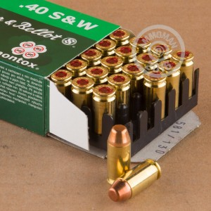 Picture of 40 S&W SELLIER & BELLOT 180 GRAIN TOTAL METAL JACKET (50 ROUNDS)