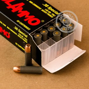 Picture of 38 SPECIAL TULA 130 GRAIN FMJ (1000 ROUNDS)