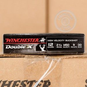 """Picture of 12 GAUGE WINCHESTER DOUBLE X 2-3/4"""" #00 BUCK SHOT (5 ROUNDS)"""
