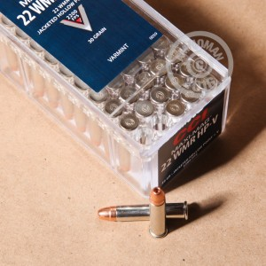 Picture of 22 WMR CCI MAXI-MAG 30 GRAIN JHP (50 ROUNDS)