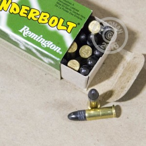 Picture of 22 LR REMINGTON THUNDERBOLT 40 GRAIN LEAD ROUND NOSE (500 ROUNDS)