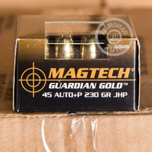 Picture of .45 ACP +P MAGTECH GUARDIAN GOLD 230 GRAIN JHP (1000 ROUNDS)