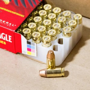 Picture of 9MM LUGER FEDERAL AMERICAN EAGLE 147 GRAIN FMJ (50 ROUNDS)