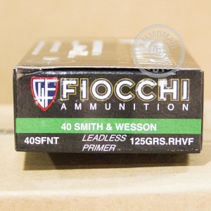 Picture of 40 S&W FIOCCHI 125 GRAIN SINTERFIRE FRANGIBLE (50 ROUNDS)