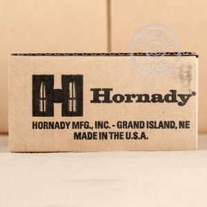 Picture of 9MM LUGER HORNADY CUSTOM 124 GRAIN JHP (250 ROUNDS)