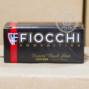 """Picture of 12 GAUGE FIOCCHI 2 3/4"""" #4 BUCK (10 ROUNDS)"""
