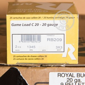 """Picture of 20 GAUGE RIO ROYAL 2-3/4"""" #1 BUCK (25 SHELLS)"""