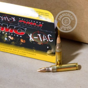 Picture of 5.56x45mm XM193 PMC 55 GRAIN FMJ-BT CENTERFIRE (1000 ROUNDS)