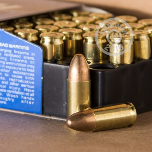 Picture of 9MM LUGER MAGTECH 124 GRAIN FMJ (50 ROUNDS)