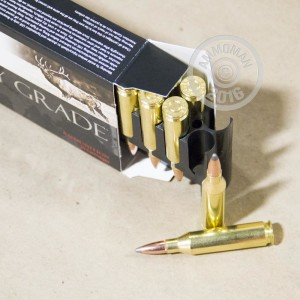 Picture of 243 WINCHESTER NOSLER CUSTOM 85 GRAIN PARTITION SP (20 ROUNDS)
