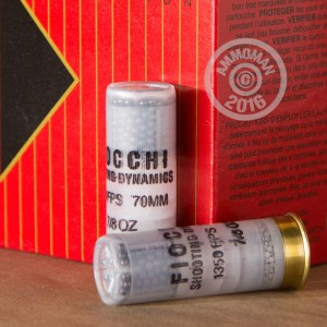 """Picture of 12 GAUGE FIOCCHI TARGET LOAD 2-3/4"""" 7/8 OZ. #8 SHOT (25 ROUNDS)"""