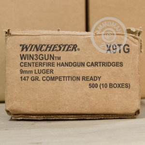 Picture of 9MM LUGER WINCHESTER WIN3GUN 147 GRAIN BEB (50 ROUNDS)