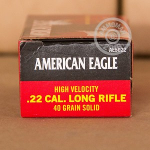 Picture of 22 LR FEDERAL AMERICAN EAGLE 40 GRAIN LEAD ROUND NOSE (50 ROUNDS)