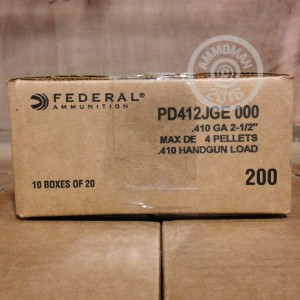 "Picture of 410 GAUGE FEDERAL PREMIUM 2-1/2"" 000 BUCK (20 ROUNDS)"