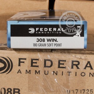 Picture of 308 WIN FEDERAL POWER SHOK 180 GRAIN SP (200 ROUNDS)