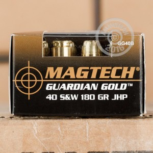 Picture of .40 S&W MAGTECH GUARDIAN GOLD 180 GRAIN JHP (1000 ROUNDS)