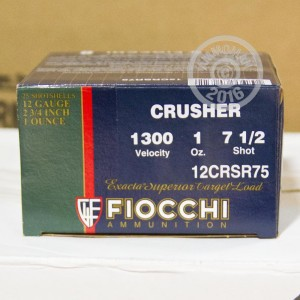 "Picture of 12 GAUGE 2 3/4"" FIOCCHI CRUSHER #7 1/2 SHOT (250 ROUNDS)"