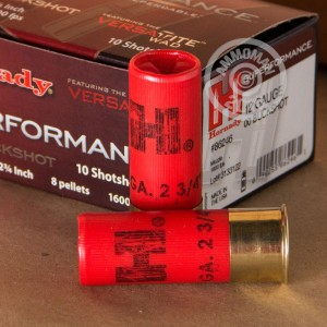 """Picture of 12 GAUGE HORNADY SUPERFORMANCE 2 3/4"""" 00 BUCK (10 ROUNDS)"""