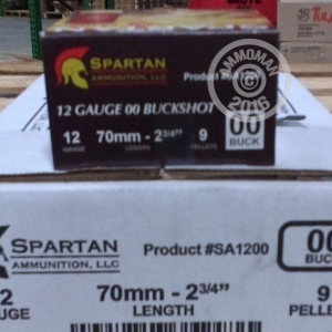 "Picture of 12 GAUGE 2 3/4"" SPARTAN 00 BUCK SHOT (250 ROUNDS)"