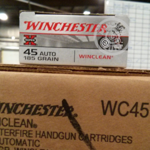 Picture of 45 ACP WINCHESTER WINCLEAN 185 GRAIN FMJ (50 ROUNDS)