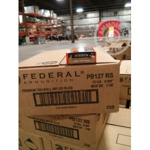 "Picture of 12 GAUGE FEDERAL TRUBALL 2 3/4"" 1 OZ. HP SLUG (250 ROUNDS)"