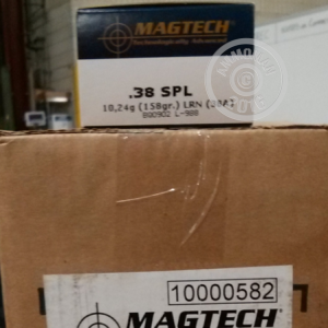 Picture of 38 SPECIAL MAGTECH 158 GRAIN LRN (1000 ROUNDS)
