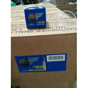 Picture of 7.62X39MM SILVER BEAR 123 GRAIN Full Metal Jacket (500 ROUNDS)